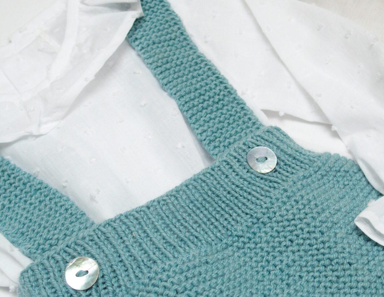 Cubrepañal  Tirantes lana fina